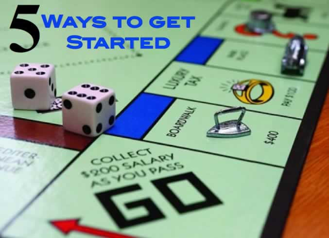 5 ways to get started
